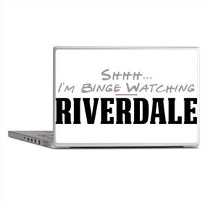 Shhh... I'm Binge Watching Riverdale Laptop Skins